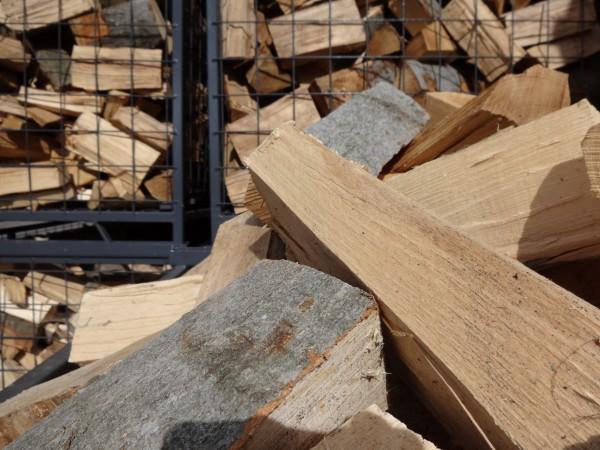 Sparpaket 5 SRM trockenes ofenfertiges Brennholz 33 cm